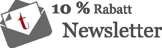 Melden Sie sich bei unserem Newsletter an und sichern sich 10% Rabatt!